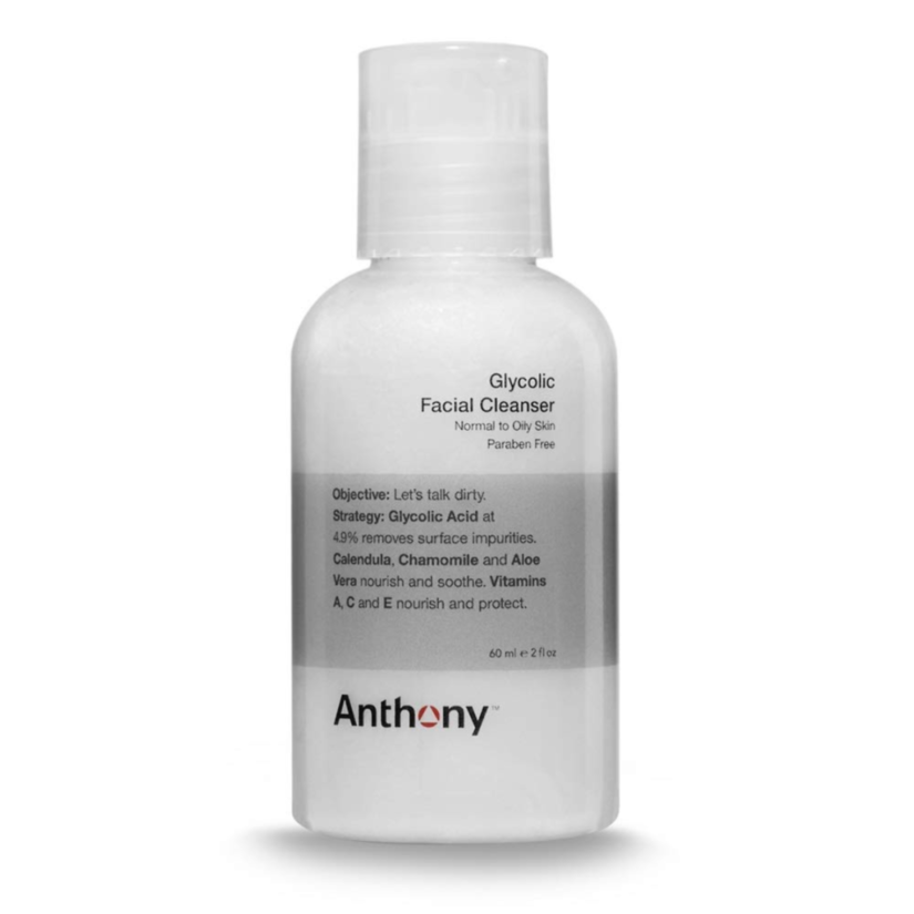 anthony glycolic facial cleanser for razor bumps