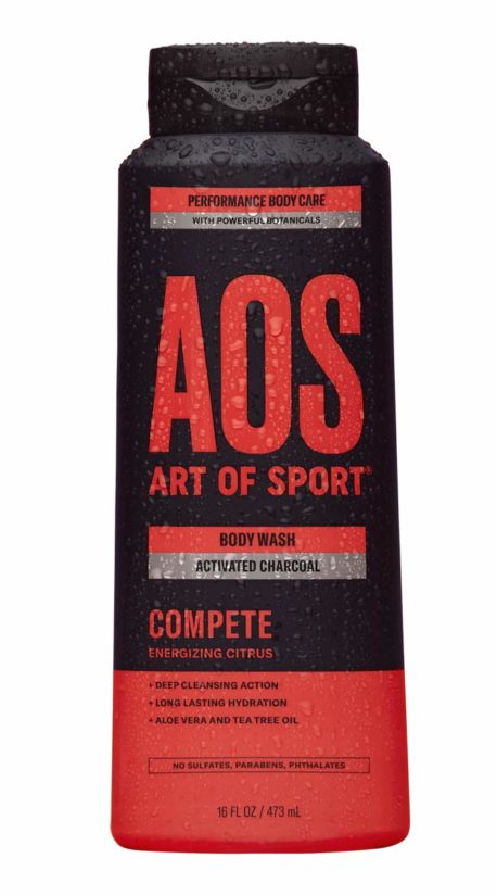 Art of Sport Activated Charcoal Body Wash for Men