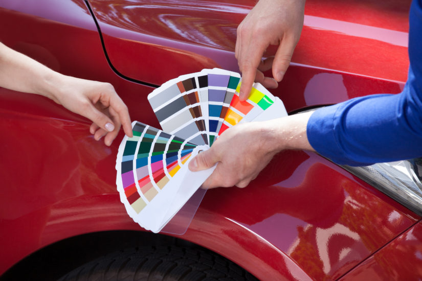 Picking color to paint your car