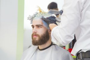 man at the hairdresser scaled